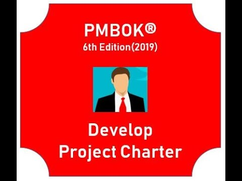 PMP® Training Video | PMBOK® Guide 6th Edition(2019) | Develop Project Charter