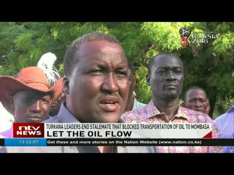 Turkana leaders end stalemate that blocked transportation of oil to Mombasa