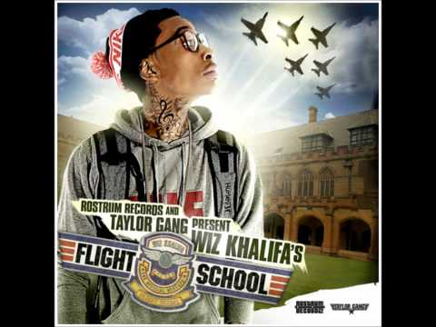 Wiz Khalifa - Teach You to Fly (Off the Flight School Mixtape) [Full Song]