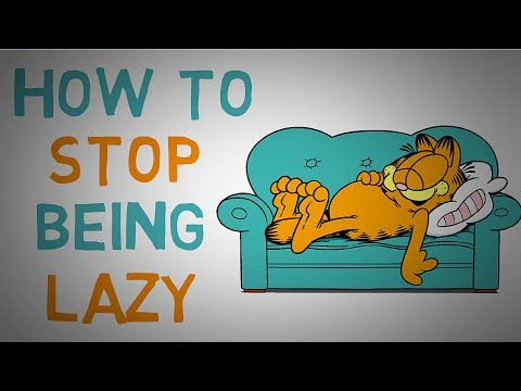 How To Stop Being Lazy - Defeat Laziness and Get Things Done (Animated)