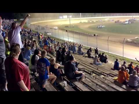 Pure stock feature at Florence speedway 6/17/17