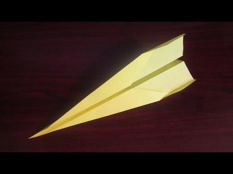 Как сделать самолетик из бумаги который долго летает|Dart|