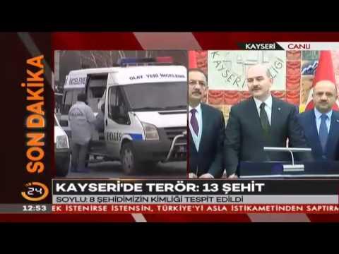 İçişleri Bakanı Süleyman Soylu: Hastanelerde 55 yaralı var, 12'si yoğun bakımda, 6'sı ağı