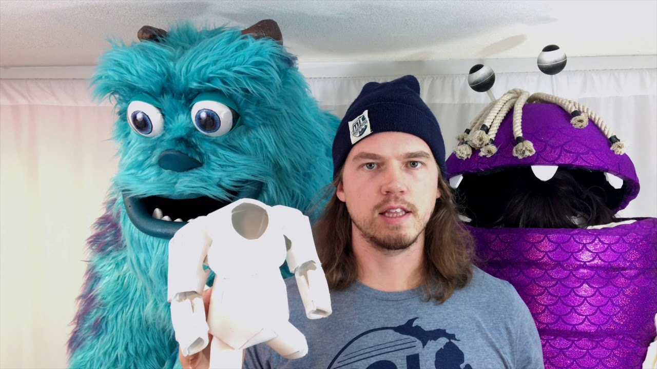 "how to make ""the ultimate monsters, inc. sully"" costume part 1 - youtube"