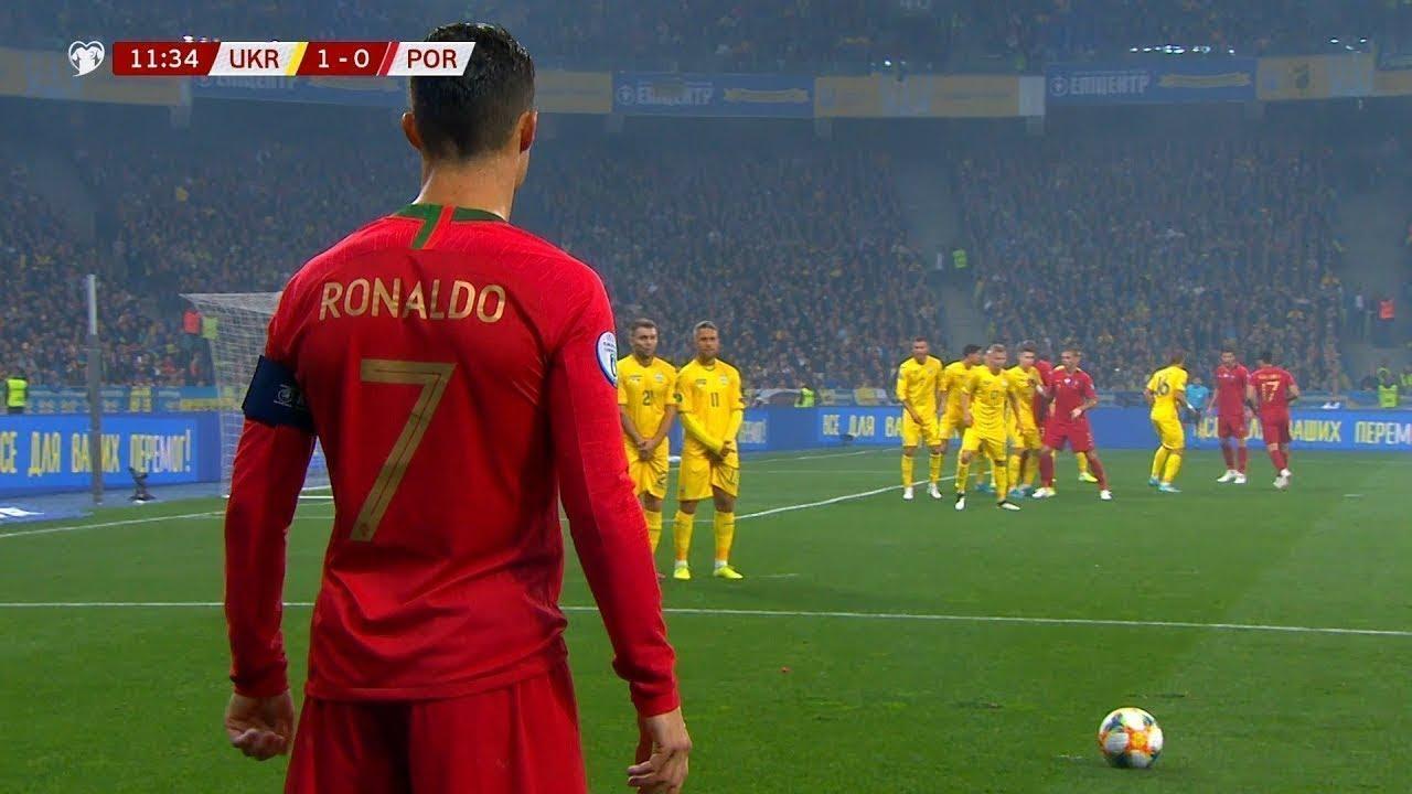 Cristiano Ronaldo'nun Attığı Efsane ve İnanılmaz Goller...