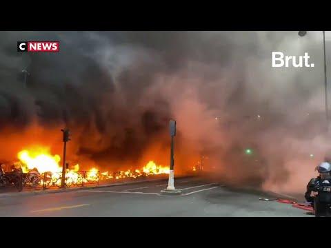 Violents incendies en marge d'un concert de Fally Ipupa à Paris, la Gare de Lyon évacuée