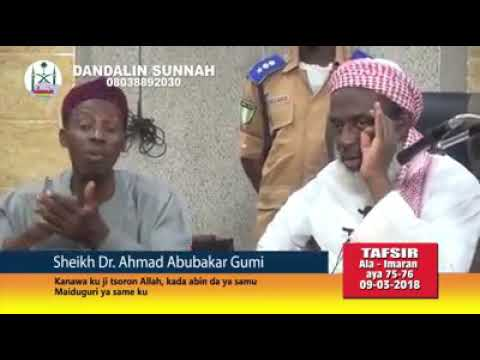 Dr Gumi Buhari da Ganduje kuji tsoron Allah thumbnail