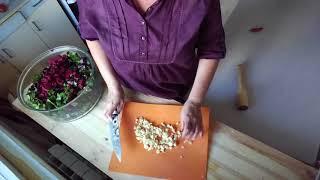 Квашеная свёкла с ботвой. Рецепт от Камо Аванесяна.