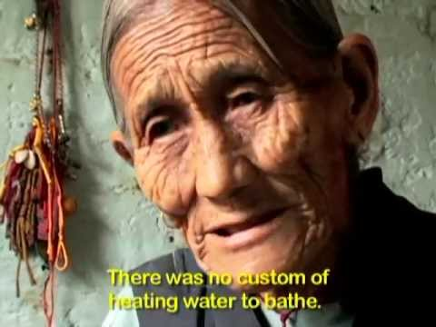 Morning Routine of a Tibetan Villager