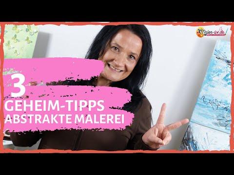Abstrakte Malerei | 3 Geheim-Tipps für Deine abstrakte Malerei mit Acrylfarben