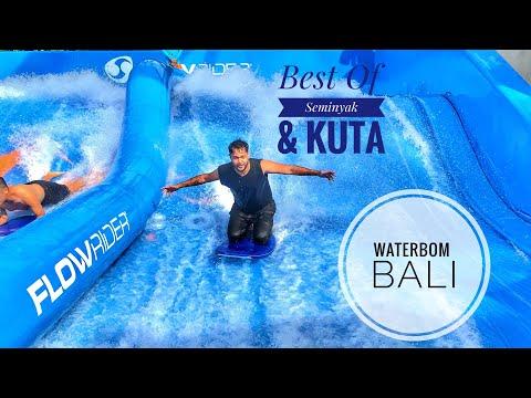Bachelor Trip Episode - 5 | Seminyak | Kuta | Waterbom Bali | Epic Foods | Flow Rider