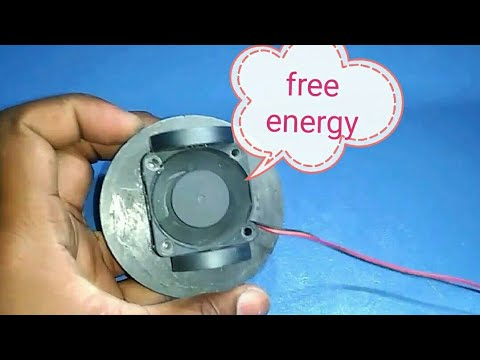 How to make a magnetic free energy / very simple self running