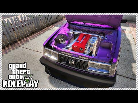 GTA 5 Roleplay - RB26 Engine Swapped Volvo 'SKYLINE GTR Engine'   RedlineRP #212