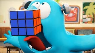 funny animated cartoon spookiz frankie swallowed a rubiks cube 스푸키즈 cartoon for children