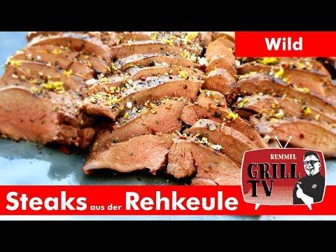Rehkeule grillen ganz einfach --- Rummel Grill TV #rummelgrilltv UT:  Deu