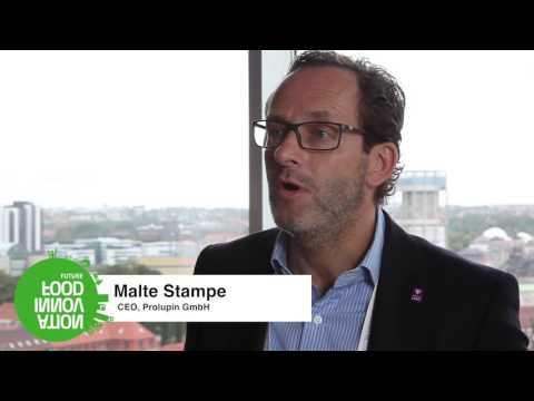 European Food Venture Forum 2016 - Interview with Malte Stampe, Prolupin GmbH