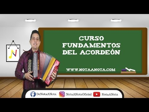Video Curso Fundamentos Del Acordeón