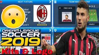 2019 AC Milan Son Kitleri & Logo 2019/20020 | Rüya Futbol Ligi Oluşturma