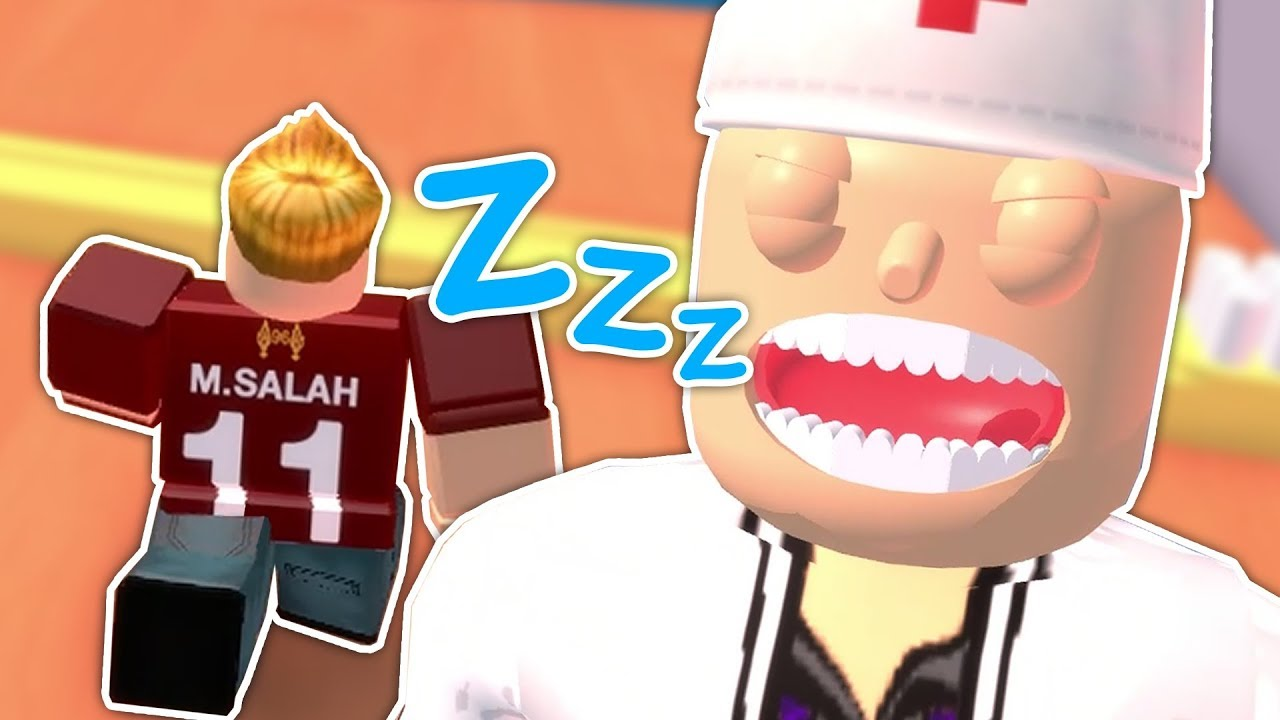 Shhh! Don't wake the evil dentist! Featuring Mo Salah xD