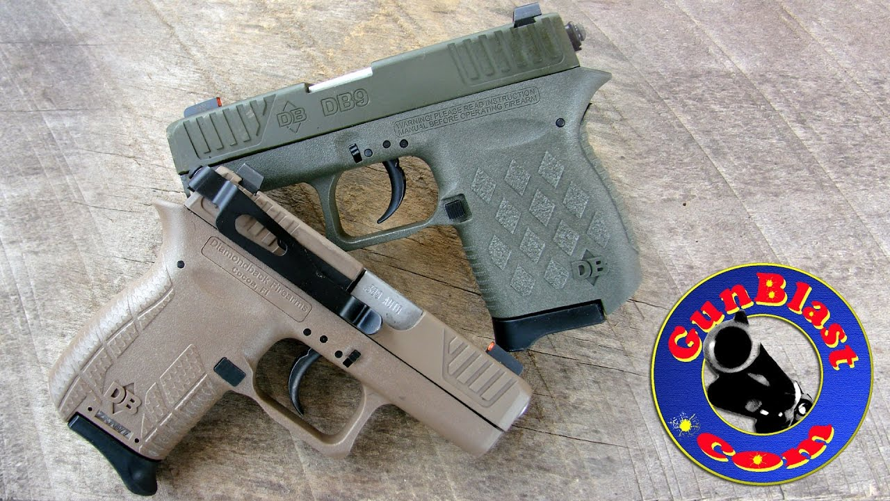 Shooting Diamondbacks Db380 And Db9 Pistols Available Only From
