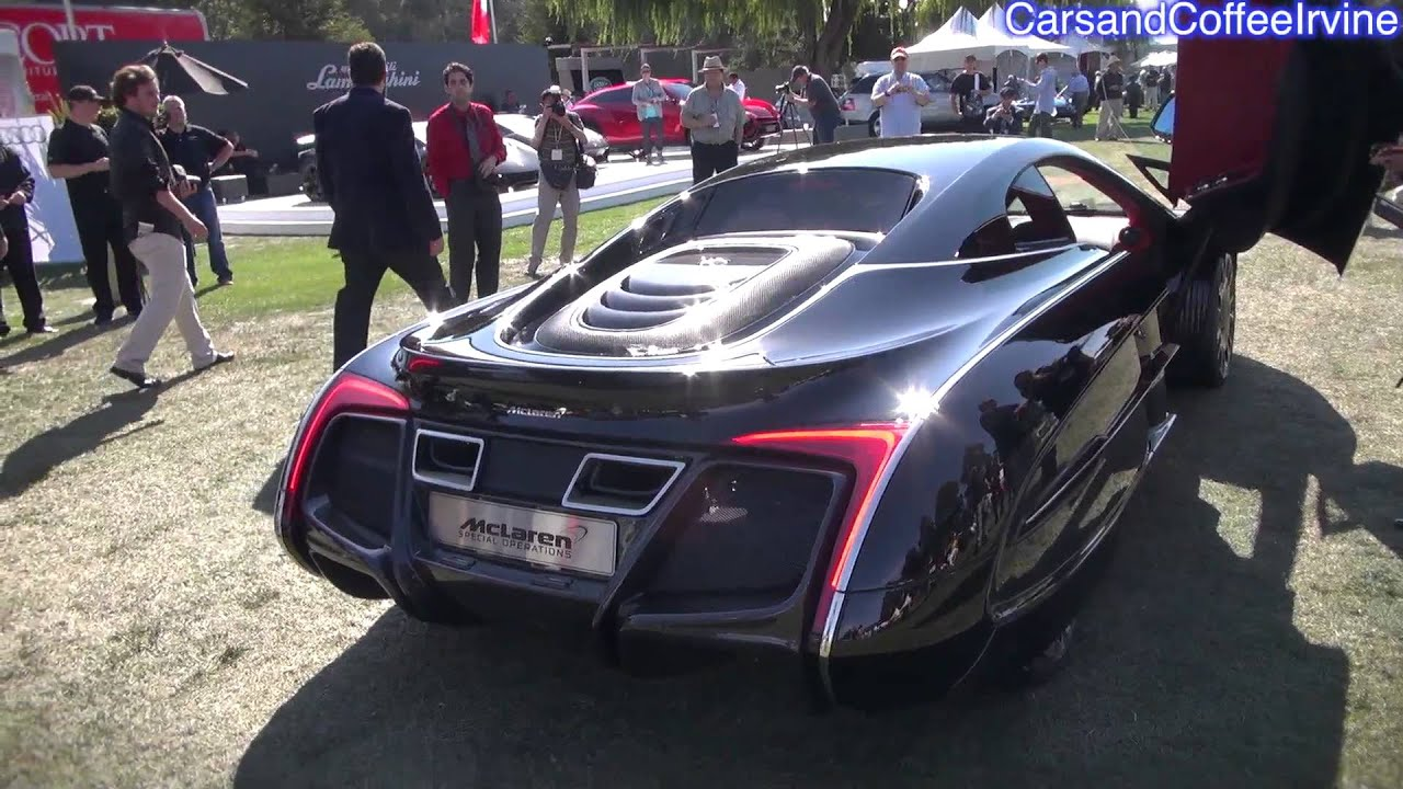 Mclaren X 1 >> Mclaren X 1 Overview And Sound Monterey 2012 Youtube