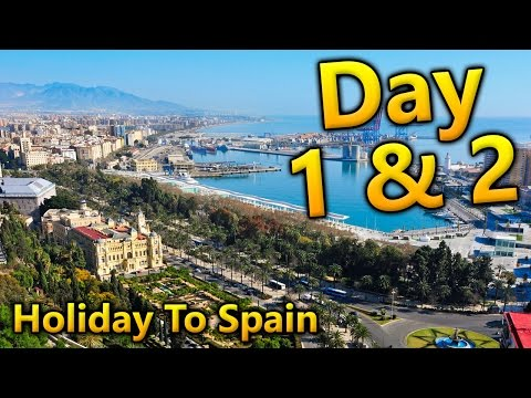 Holiday To Spain - Day 1 & 2