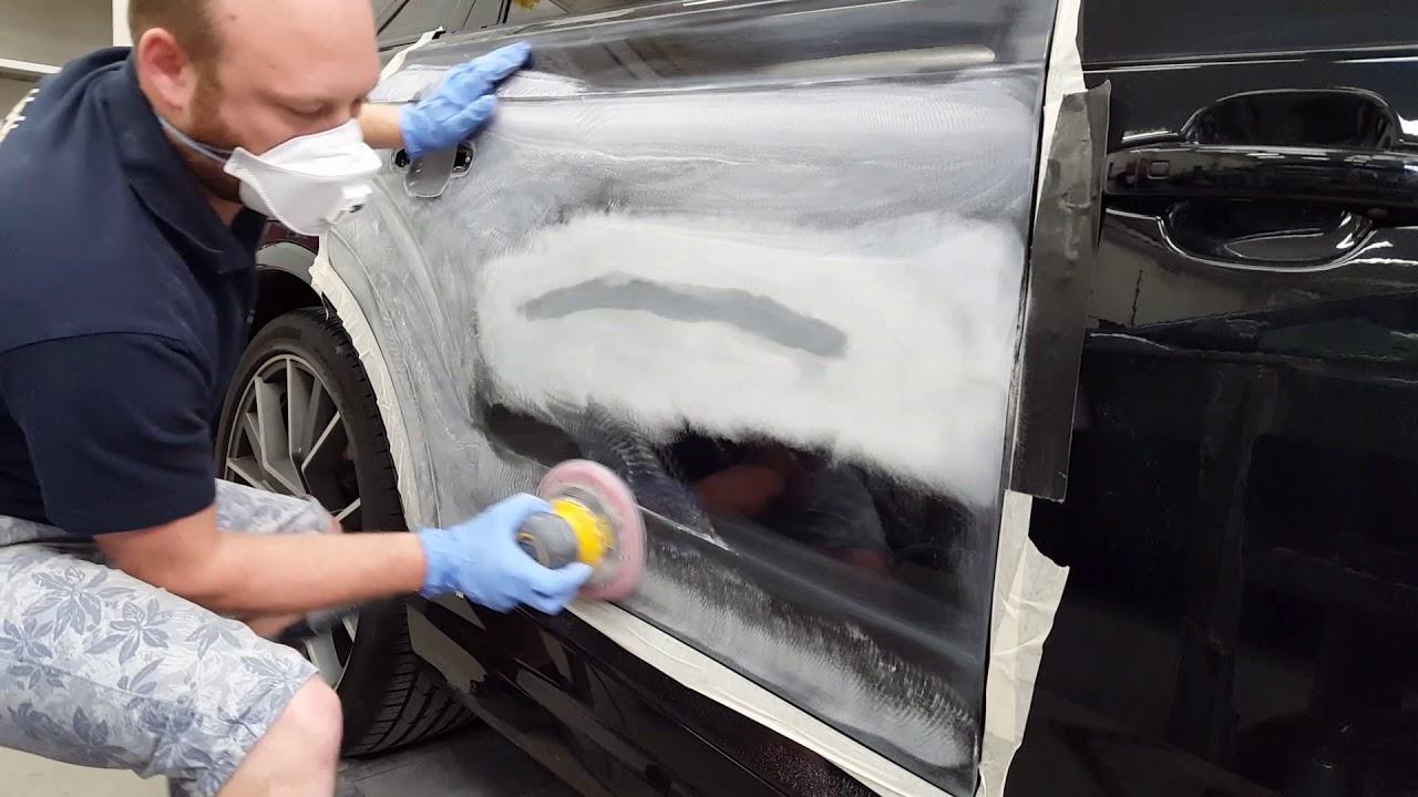 Car Repair: Professional Scratch Repair - YouTube