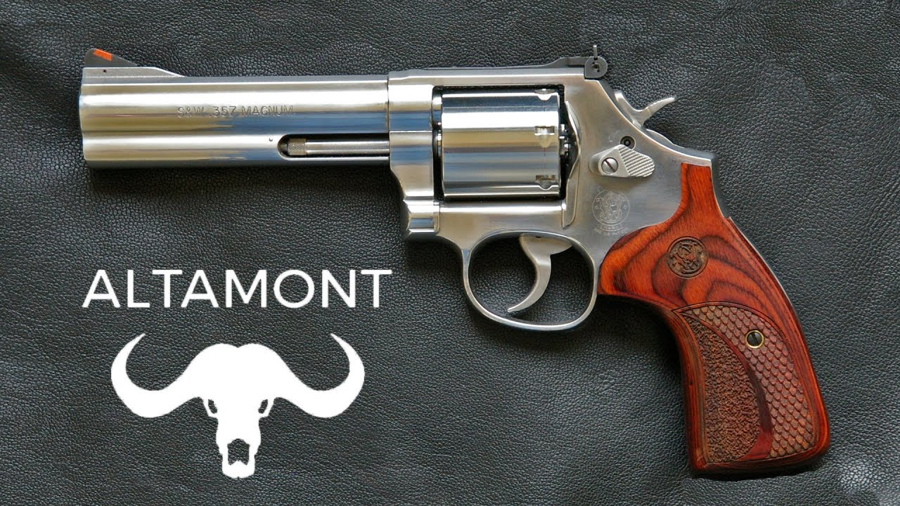 Altamont Smith And Wesson 686 Wood Grip
