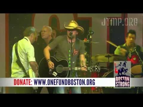 "Boston Strong - Jason Aldean - ""Take A Little Ride"" ""She's Country"" - LIVE"
