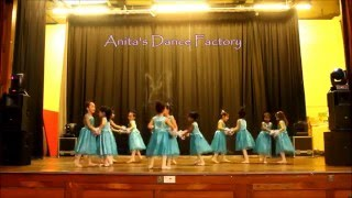 Ballet Dance Performance Frozen