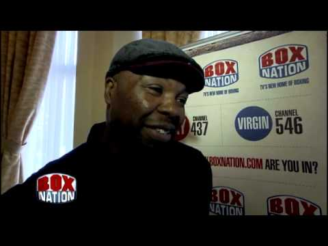 Dereck Chisora's Manager Don Charles on the controversial heavyweight's return LIVE on BoxNation