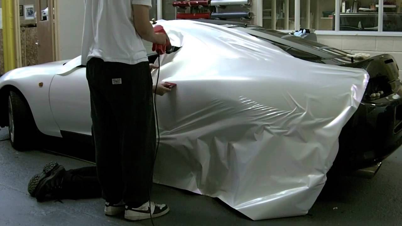 Toyota Supra Pearl White Vinyl Wrap By Sjsdesign Youtube
