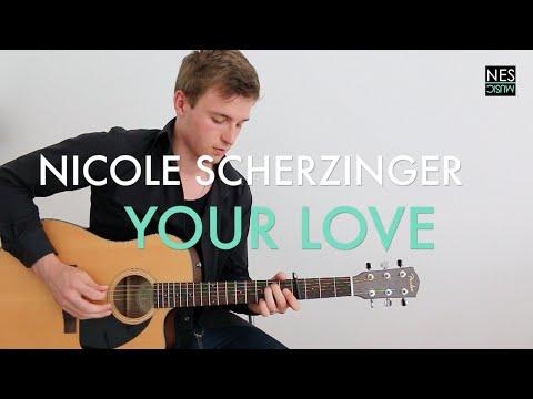 Guitar guitar chords your love : Nicole Scherzinger - Your Love Acoustic - GUITAR TUTORIAL Tabs ...
