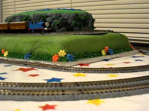 Thomas The Tank Engine Cake Youtube