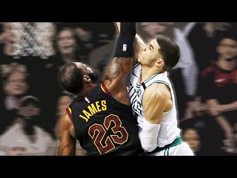 15d6b7bdedf Jayson Tatum Revealed He Has A MASSIVE Poster At His House Of Him DUNKING  On LeBron