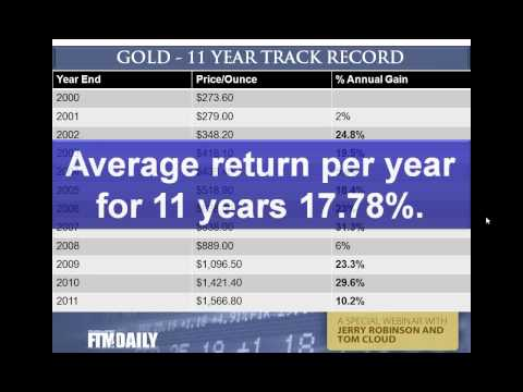 Gold, Silver, and Diamond Investing in 2012 - Educational Webcast