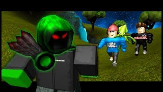 HUNTING THE GREEN GUEST! ( A Roblox Story)