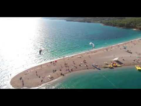 Uitgelezene Insel Brac - Bol - Goldenes Horn - Zlatni Rat - YouTube TE-89