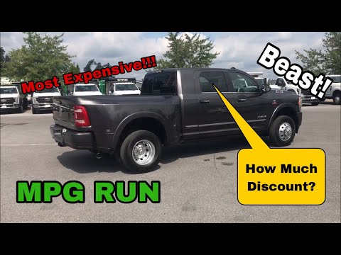 *2020-ram-updates*-19-3500-megacab-dually---mpg-&-pricing-review!!!---hard-to-find-configuration!!!