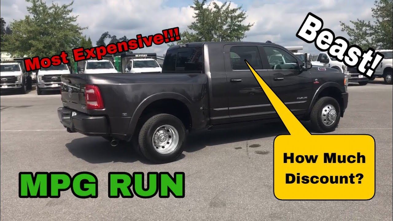 2020 Ram Updates 19 3500 Megacab Dually Mpg Pricing Review Hard To Find Configuration Youtube