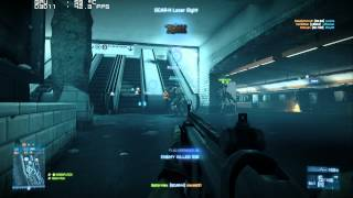 PC Sapphire Ati HD 5830 Benchmark - Battlefield 3 Operation Metro - Ultra 1080p FPS