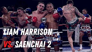 WAR! | Liam Harrison vs Saenchai 2 | April 2011 | Muay Thai | Full Fight