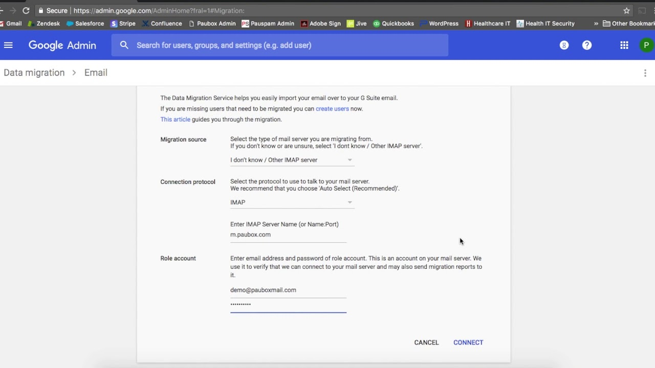 How to Use G Suite's Migration Tool