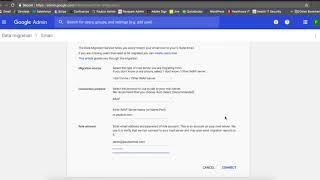 Wie zu Verwenden G Suite Migration Tool
