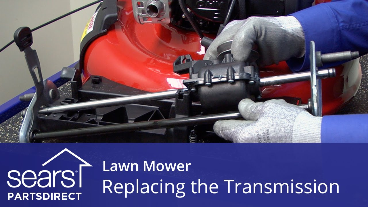 Replacing the Transmission on a Lawn Mower
