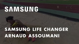 Samsung Life Changer – L'expérience du saut en longueur en 360 avec Arnaud Assoumani