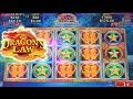 MAX BET BIG WIN! Dragons Law Slot Machine Bonus ~ Konami Slots