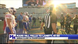 Mars Hill falls to Lanett in AHSAA Class 1A Championship (Highlights & Recap)