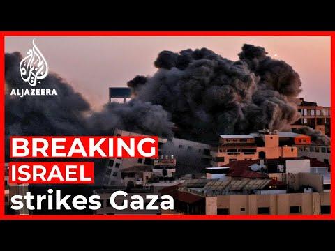 Hamas retaliates after Israel attack destroys Gaza residential tower