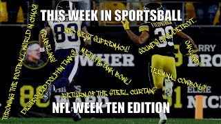 This Week in Sportsball: NFL Week Ten Edition (2019)